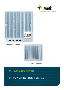 Datasheet TSAT 3000 IP67