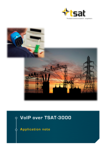 Voice over TSAT